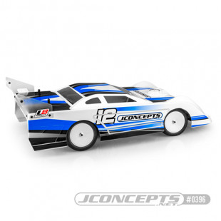 Jconcepts JConcepts L8 Night 10.25inch Wide Late Model Dirt Oval Clear Body Set For 1/10 Buggy 0