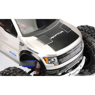 Pro-Line Ford F-150 SVT Raptor Monster Truck Clear Body For Traxxas REVO 3.3 EREVO EMAXX TMAXX 3.3