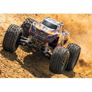 Traxxas Hoss 4x4 VXL 1/10 4WD Brushless RC Monster Truck RTR Orange Version w/ TQi 2.4GHz Radio TSM