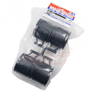 Tamiya WR02CB T Parts Wheel Rims 4 pcs Deep Gray