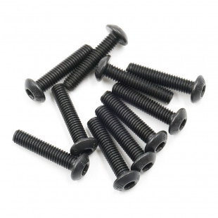 Xpress Button Head Hex Screw 3x14mm 10pcs