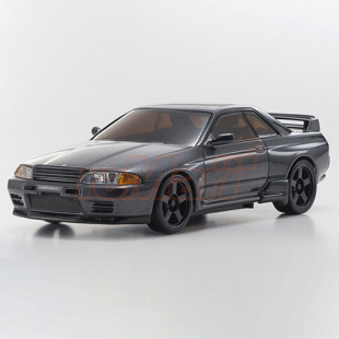 Kyosho A.S.C. NISSAN SKYLINE GT-R NISMO R32 Gun Metallic Version Painted Body For Mini-Z MA-020S