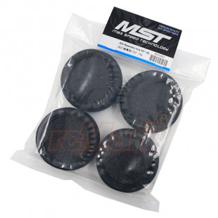 MST AD 50Degree Realistic Rubber Tire 4 pcs