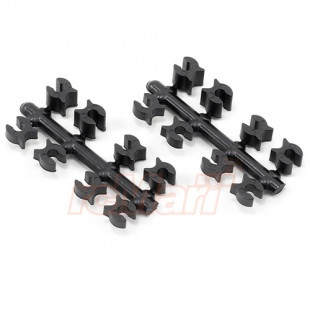 RPM Shock Up Travel Limiter Clips For All Team Associated, Team Losi & Traxxas 1/10 Offroad
