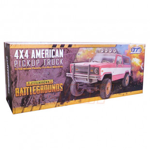 TTRCSport PUBG 1/12 4x4 American Pickup Truck RTR EP w/o Battery  Clearance Sale