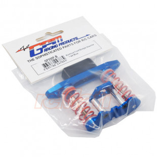 GPM Racing Aluminum Front Bumper Absorber set Blue For Tamiya GF01 Wild Willy 2