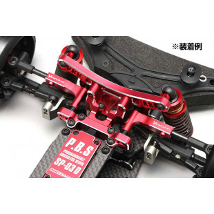 Yokomo YD-2 Aluminum Front Upper Arm Set Red
