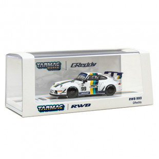 Tarmac Works 1/64 RWB993 Greddy Diecast Scale Model Car
