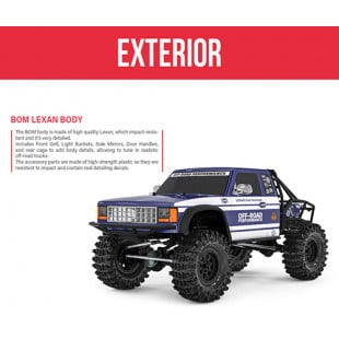 Gmade GS02 BOM 1/10 Ultimate Trail Truck Kit