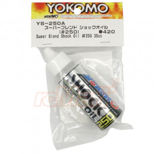 Yokomo Super Blend 100% Pure Silicone Soft Shock Damper Oil #250