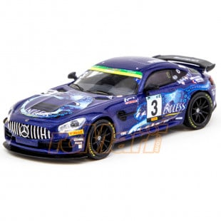 Tarmac Works 1/64 Mercedes AMG GT4 Super Taikyu Series 2019 ST-Z Class Champion Endless Sports Limited 1248pcs Hobby64 Diecast Scale Model Car
