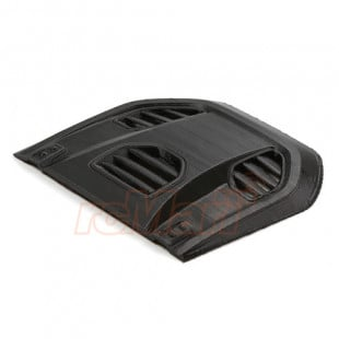 GRC 1/10 3D Printe PLA Engine Cover Type B Black For Axial SCX10 Jeep Wrangler Body
