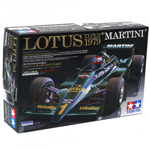 Tamiya 1/20 Scale Lotus Type 79 1979 MARTINI Scale Model Kit