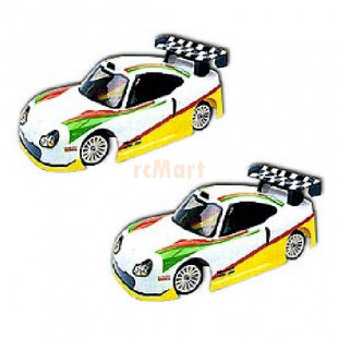 Colt 1/10 Mini Body 911 GT1 M1110 x 2 Pcs COMBO