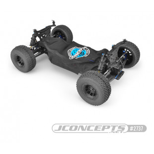 Jconcepts JConcepts Breathable Chassis Cover Black For Traxxas Slash 4x4 Low CG Chassis