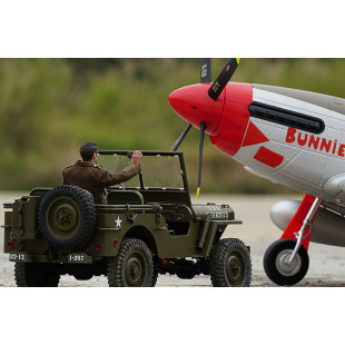 RocHobby 1/6 1941 Military MB Scaler RTR Car Kit