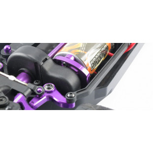 Yeah Racing Aluminum Motor Mount (PP) for HPI E10