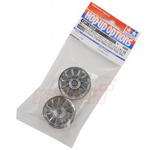 Tamiya 11 Spoke Chrome Plated Rim 2 pcs For M-Chassis T3-01 Dancing Rider