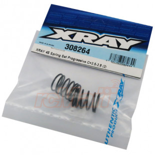 Xray 4S Spring Set Progressive C = 2.5-2.8 for T4