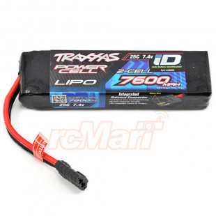 Traxxas Power Cell 7600mAh 7.4v 2-Cell 25C LiPo Battery w/ iD Connector