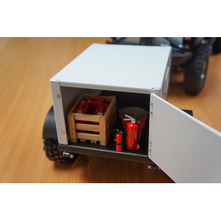 Xtra Speed Heavy Duty Scale Shed Trailer For 1/10 Crawler Truck Car