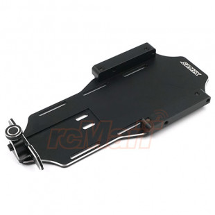 Samix Forward Adjust Battery Tray Kit Black For Element Enduro