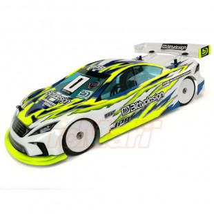 Bittydesign JP8 190mm Light Weight Clear Body Set For 1/10 RC Touring Car