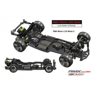 MST RMX 2.0 KMW Plus Black 1/10 High Performance RWD Drift Car Kit (Limited Edition)