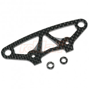 Yeah Racing Carbon Graphite Front Body Mount Brace For Xray T4