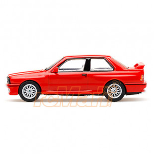 Mini GT 1/64 BMW M3 E30 Henna Red RHD Diecast Scale Model Car