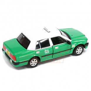 Tiny City 45 1/64 Toyota Crown Comfort Urban Taxi Green New Territories Diecast Scale Model Car