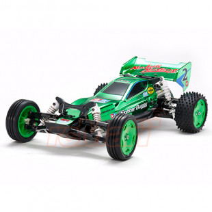 Tamiya 1/10 DT03 Neo Fighter Green Metallic 2WD Buggy Car Kit EP