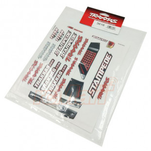 Traxxas Stampede Decal Sheets