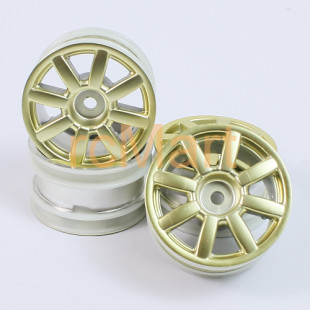 Tamiya M-Classis 8-Spoke Wheel Gold