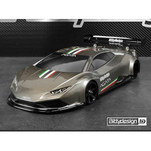 Bittydesign AGATA GT12 Clear Body Set For 1/12 Supastox Class