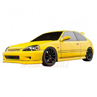 MST TCR-FF 257mm EK9 Flat Yellow Body Version ARTR 1/10 RC Touring Car w/ 2.4GHz Radio