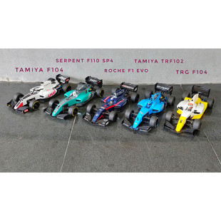 Rcon RCON RC.ONE F1 Clear Body Set For 1/10 Formula 1