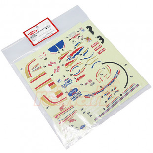 Kyosho Hanging On Racer Decal Sheet