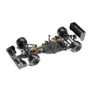 Xray X1 2020 Specs Luxury 1/10 Formula 1 F1 Competition EP Car Kit w/ Clear Body
