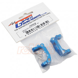 GPM Racing Aluminum C-HUB 2 pcs Blue For Tamiya CC01