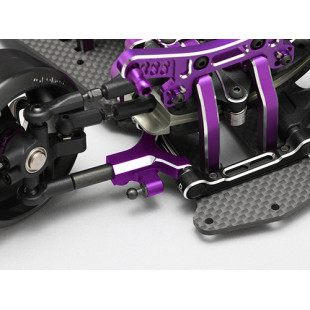 Yokomo YD-2 Aluminum Bevel Edge Front Short A-Arm Set Purple