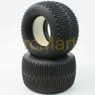 Tamiya Oval Spike tire 150/80 w/Sponge (2Pcs)