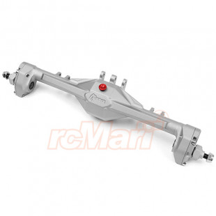 Vanquish Aluminum Currie Portal F9 Rear Axle Kit Silver For Axial SCX10 II