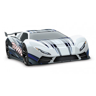 Traxxas XO-1 1/7 RTR Electric 4WD Onroad Sedan White w/ 2.4GHz TQi Radio, TSM & Link Wireless Module