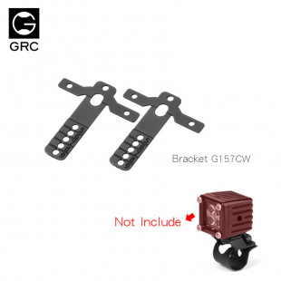 GRC 5-9mm Various Directions Spotlight Bracket Luggage Rack Spotlight 2 pcs For Axial SCX10