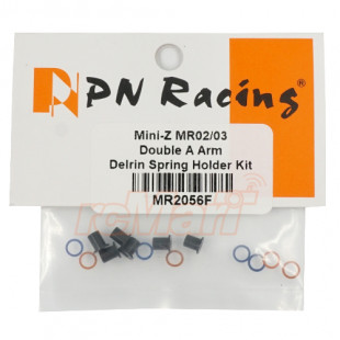 PN Racing Double A Arm Delrin Spring Holder Kit For Kyosho Mini-Z MR02 MR03