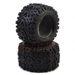 Traxxas E-Revo VXL 2.0 Talon Ext 3.8inch Monster Truck Tires 2 pcs w/ Foam Inserts