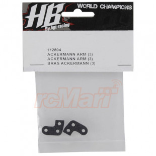 HB Racing 3-Aggressive Ackermann Arm 2 pcs For D413 D418