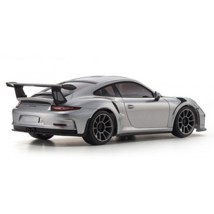 Kyosho Mini-Z RWD Porsche 911 GT3 RS Lavaorange Silver Version w/ KT-531P Radio Readyset RTR Car Kit