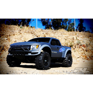 Pro-Line True Scale Ford® F-150  Raptor SVT Clear Body for Slash® 2wd, Slash® 4x4 & SC10